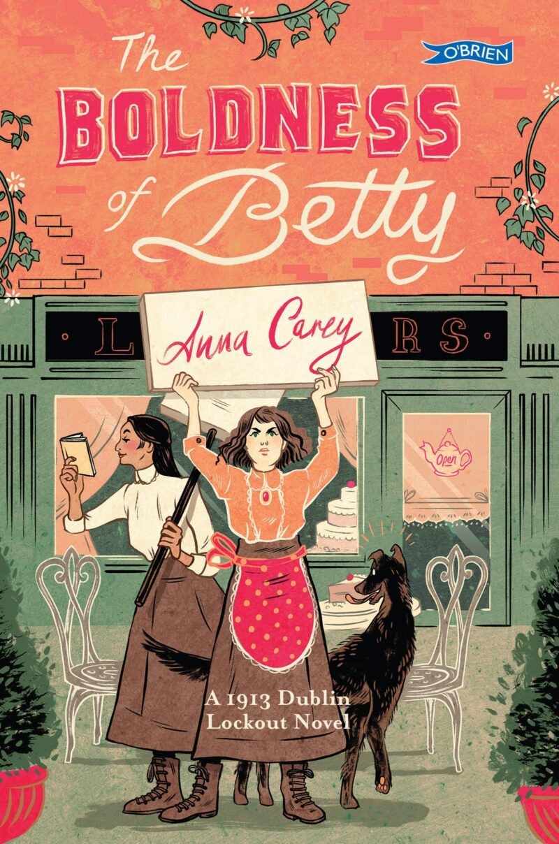 Book cover for 'The Boldness of Betty'