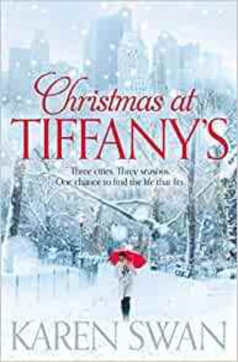 Book cover for 'Christmas At Tiffany's'