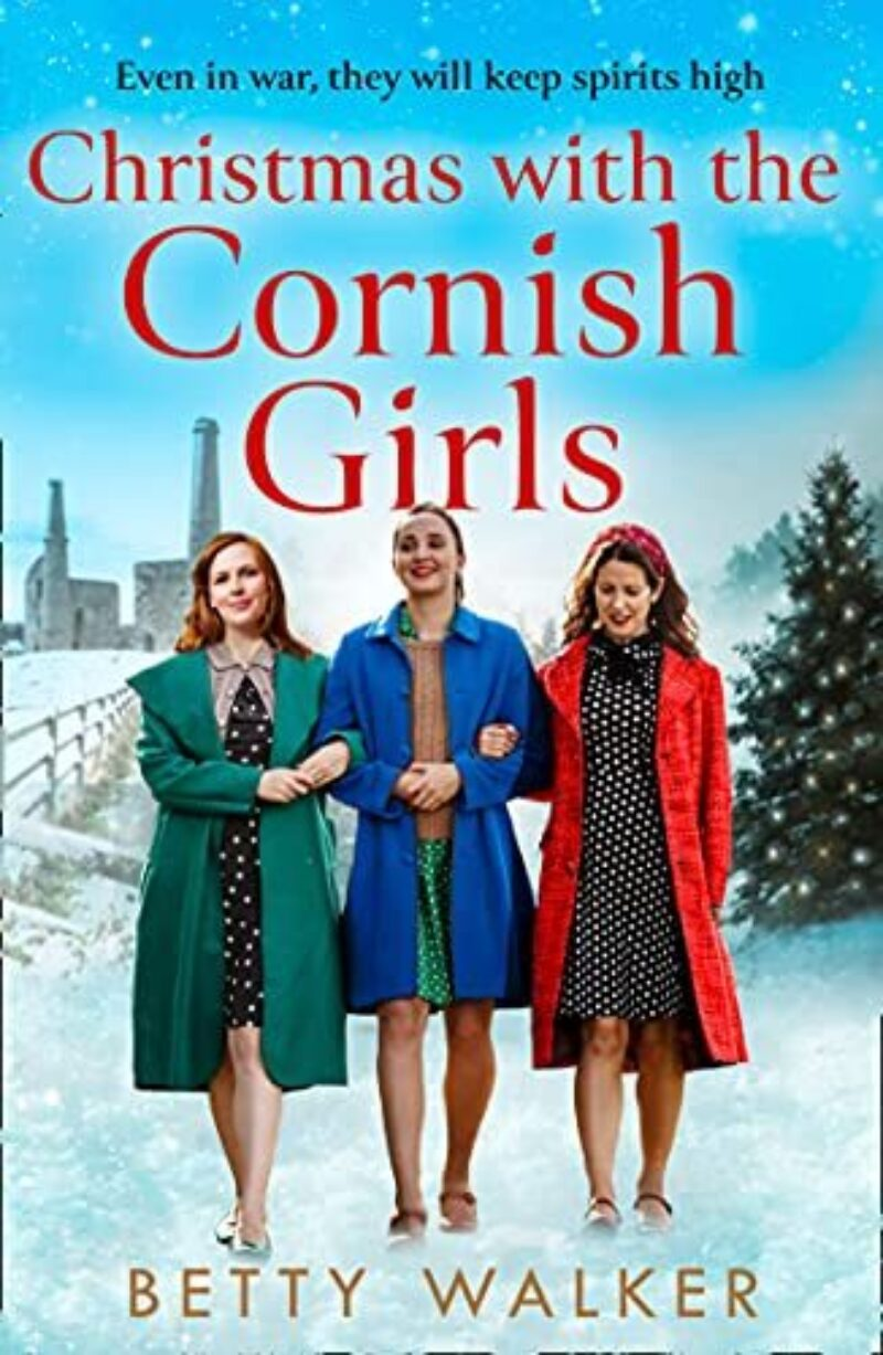Book cover for 'Christmas with the Cornish Girls'