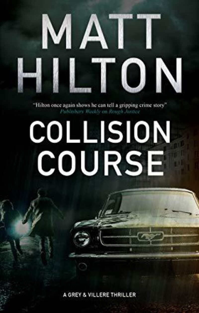 Book cover for 'Collision Course'