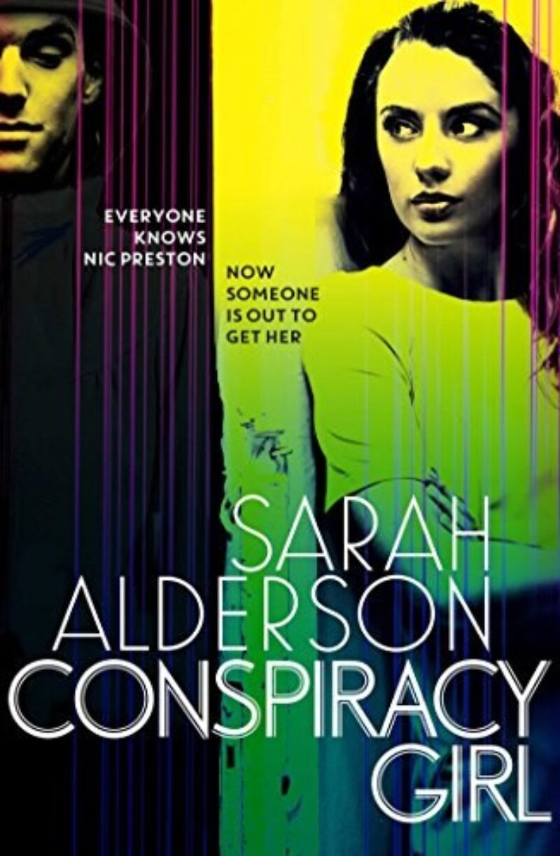 Book cover for 'Conspiracy Girl'