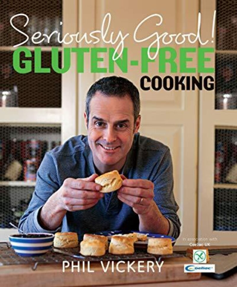Book cover for 'Seriously Good! Gluten-Free Cooking'