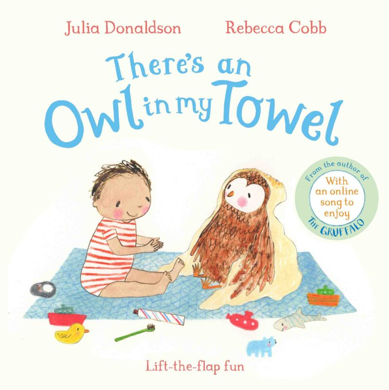Book cover for 'There's An Owl In My Towel'