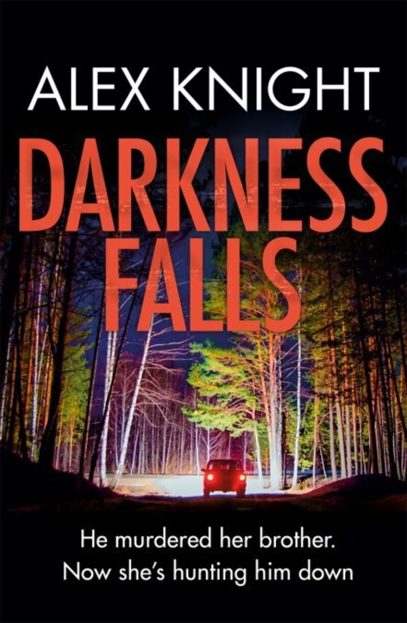 Book cover for 'Darkness Falls'