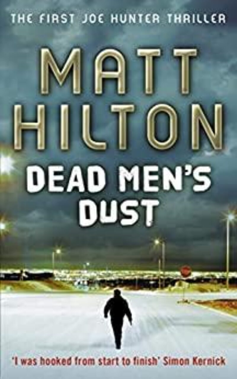 Book cover for 'Dead Men's Dust'