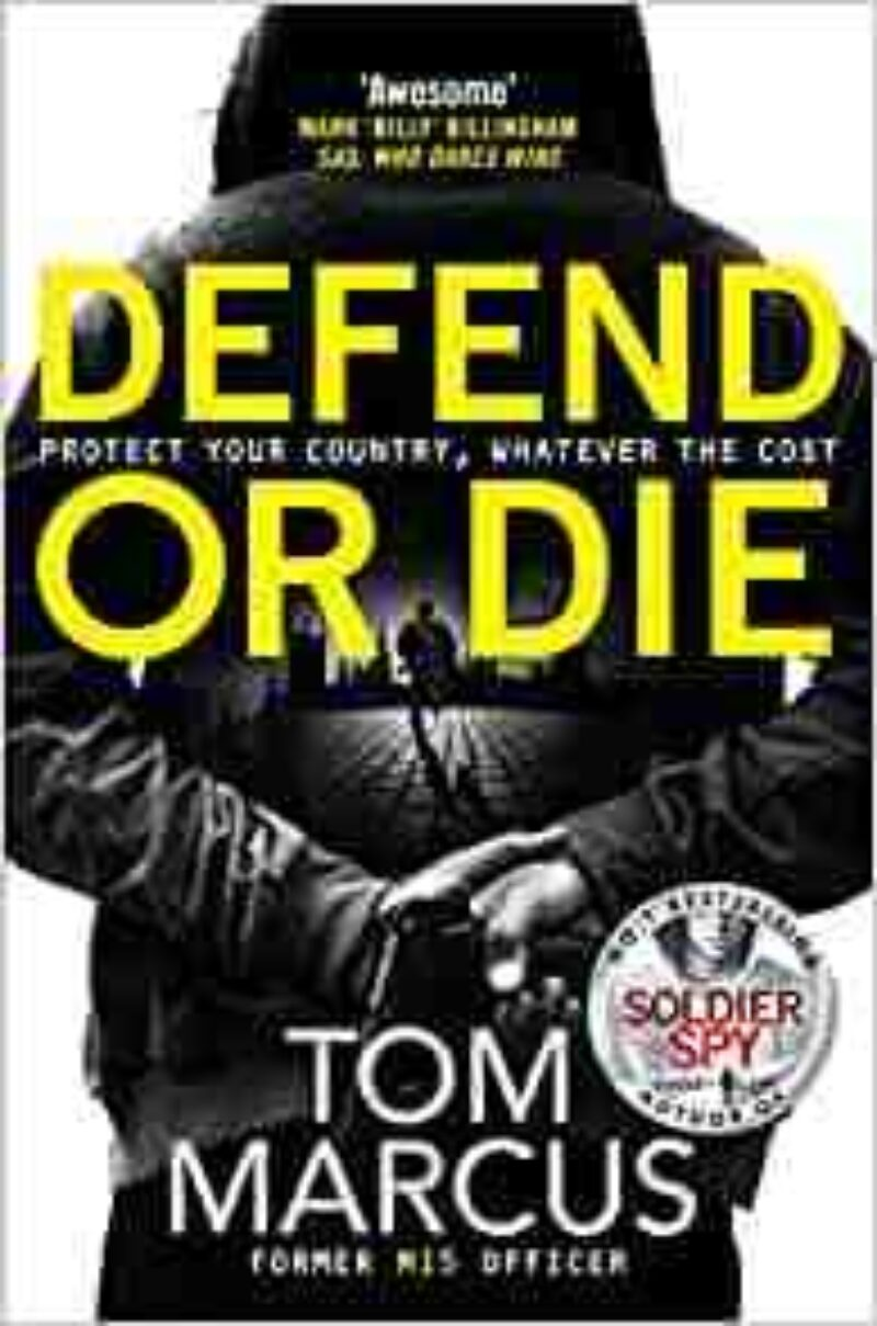 Book cover for 'Defend or Die'