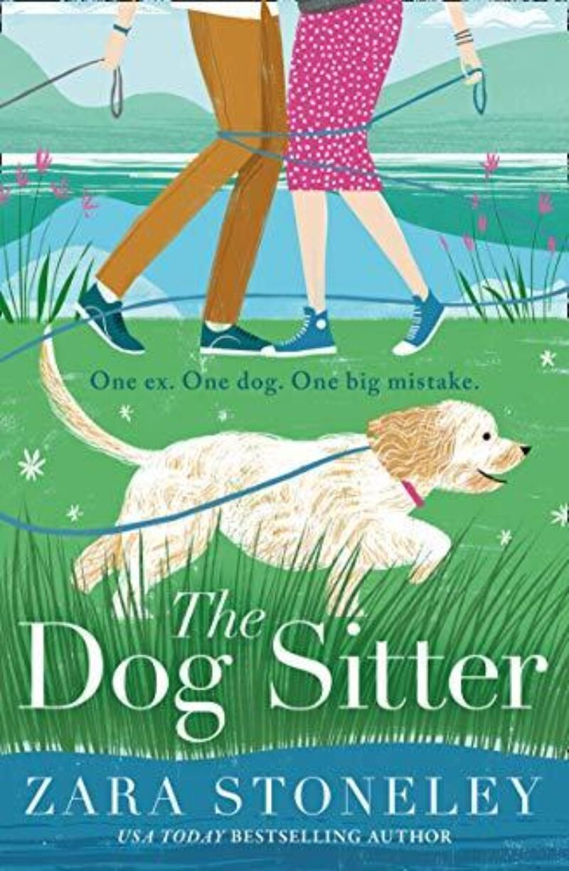 Book cover for 'The Dog Sitter'