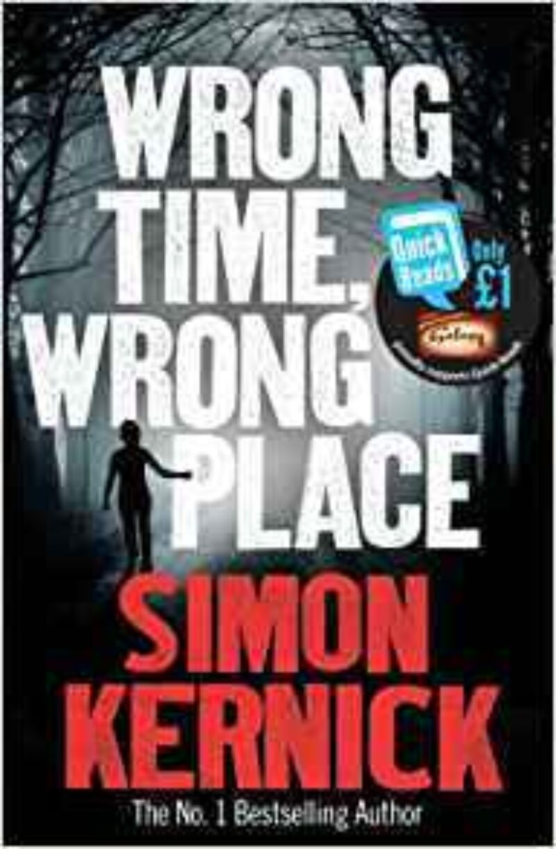 Book cover for 'Wrong Time, Wrong Place'