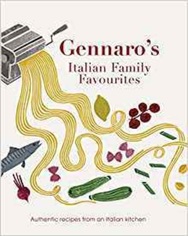 Book cover for 'Gennaro's Italian Family Favourites'