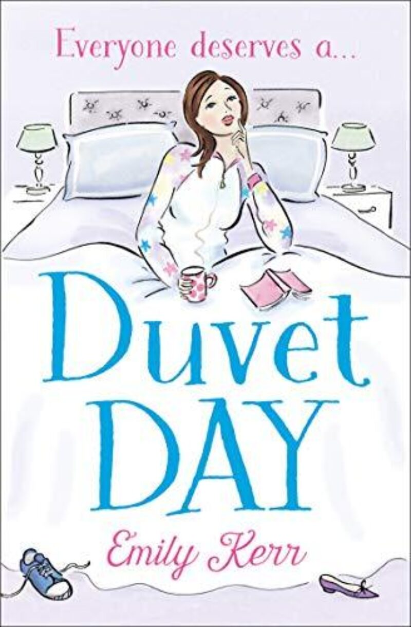 Book cover for 'Duvet Day'