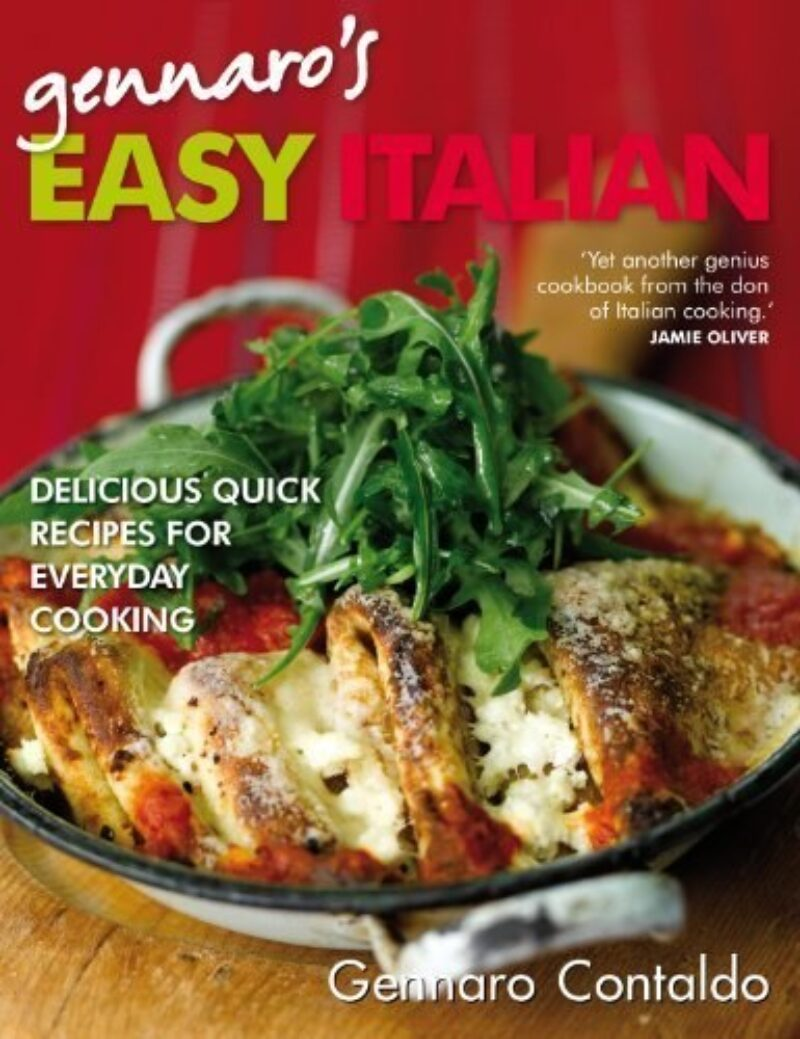 Book cover for 'Gennaro's Easy Italian'