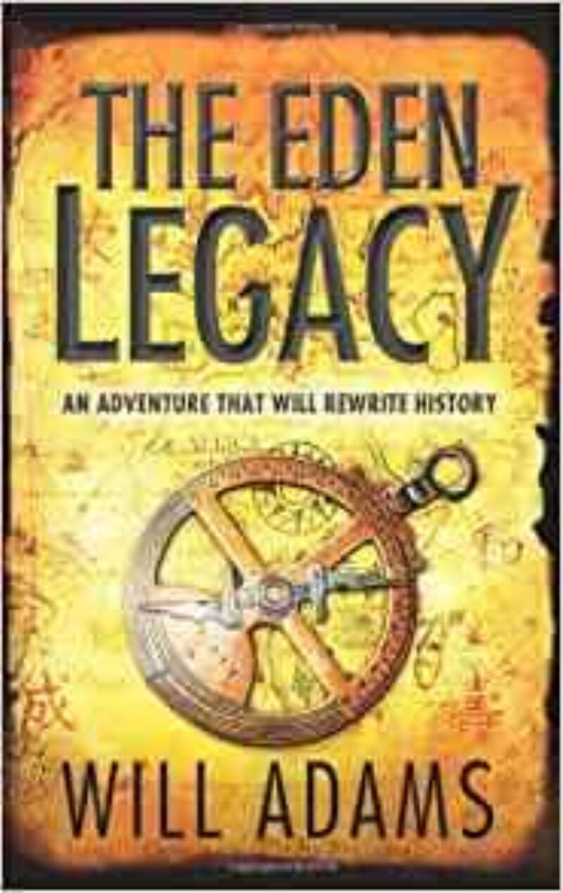 Book cover for 'The Eden Legacy'