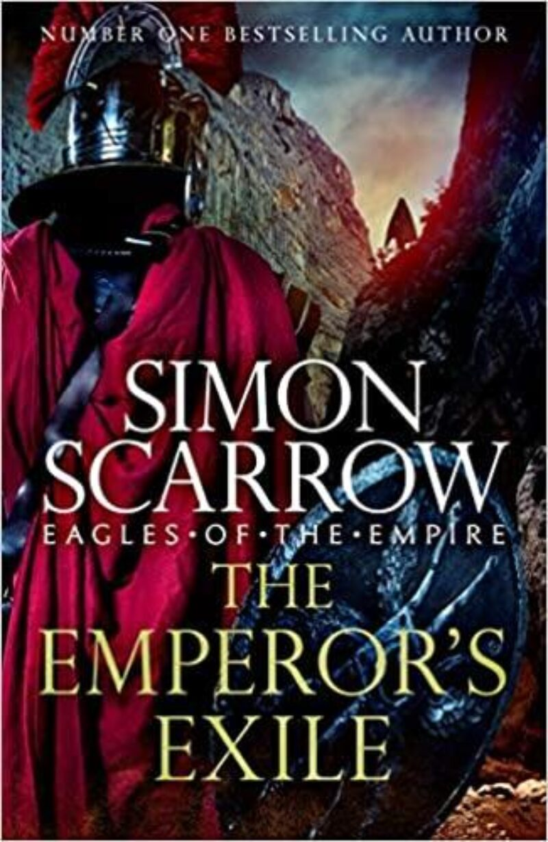 Book cover for 'The Emperor's Exile'