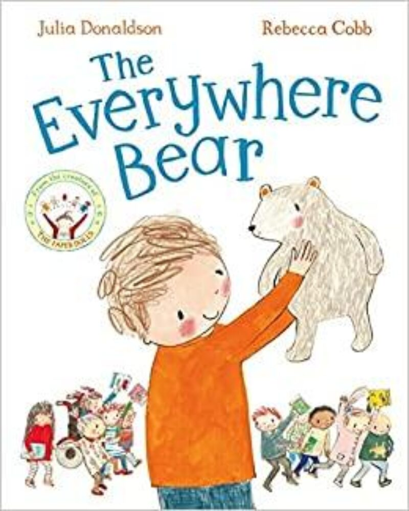 Book cover for 'The Everywhere Bear'