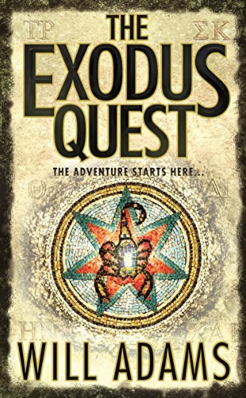 Book cover for 'The Exodus Quest'