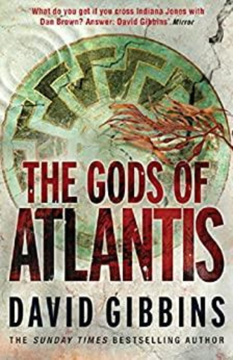 Book cover for 'The Gods Of Atlantis'
