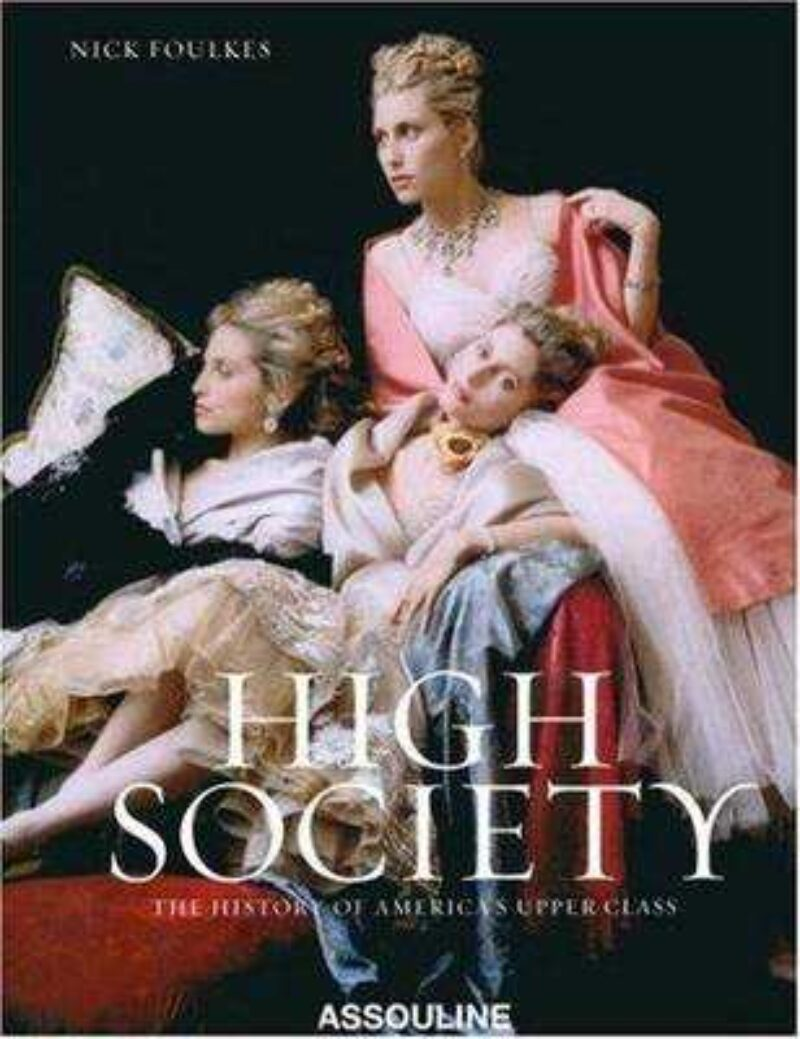 Book cover for 'High Society'