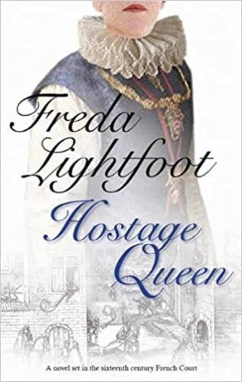Book cover for 'Hostage Queen'