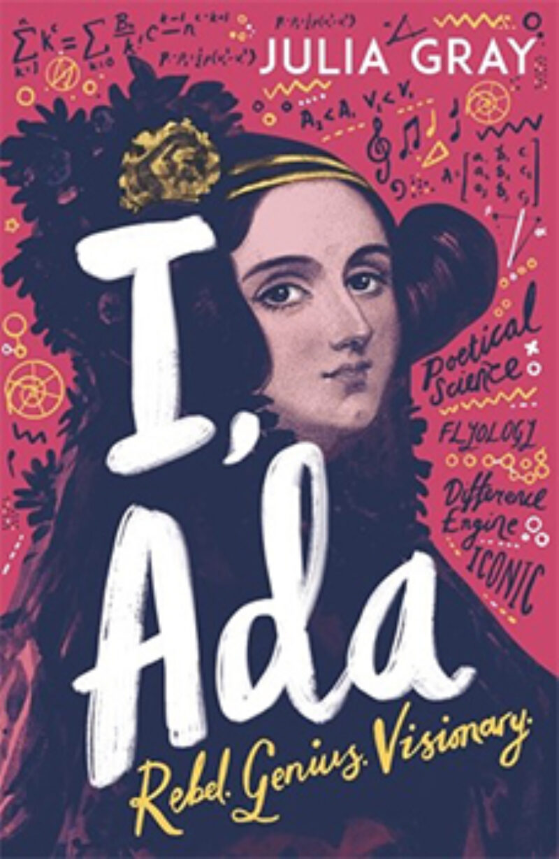 Book cover for 'I, Ada'