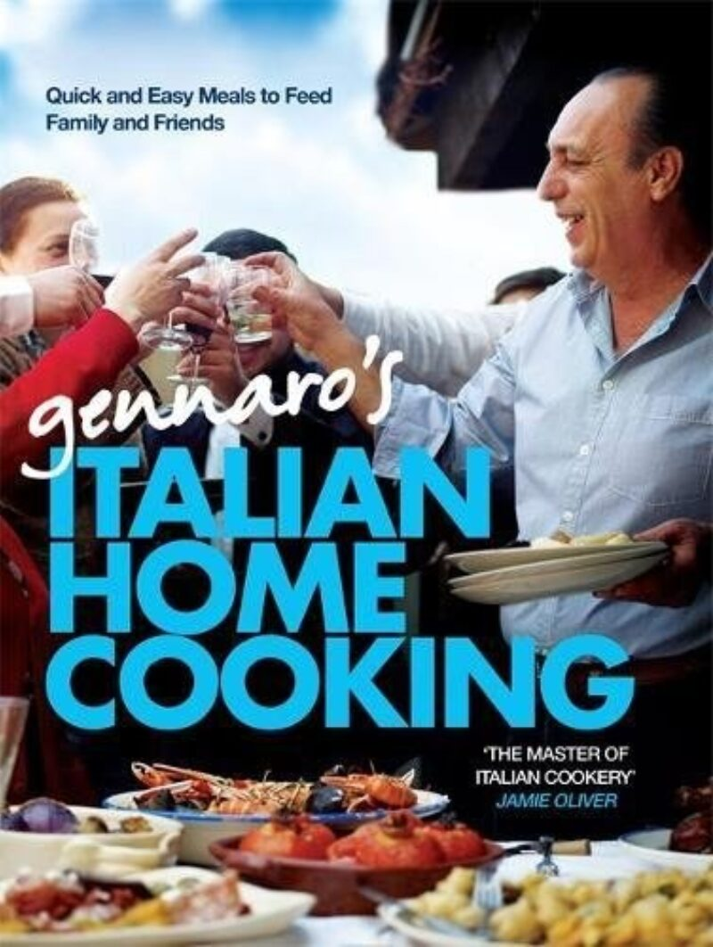 Book cover for 'Gennaro's Italian Home Cooking'
