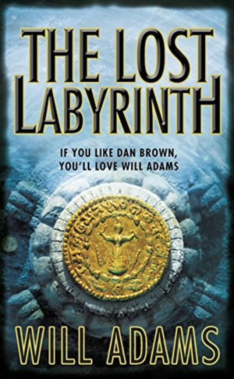 Book cover for 'The Lost Labyrinth'