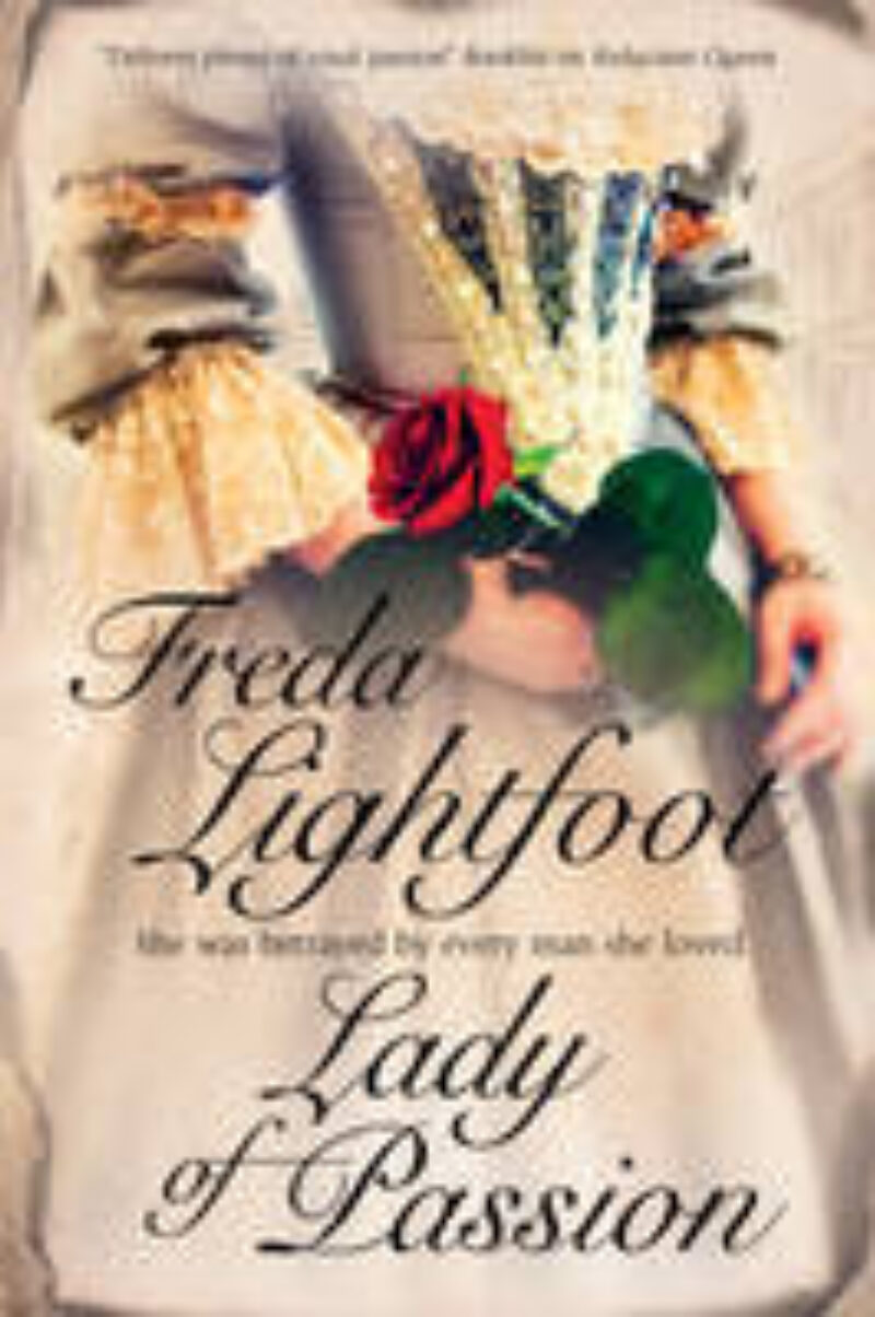 Book cover for 'Lady of Passion'