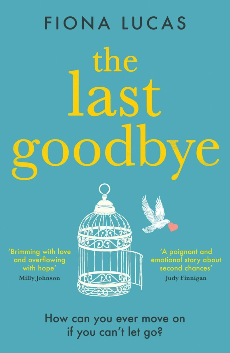 Book cover for 'The Last Goodbye'