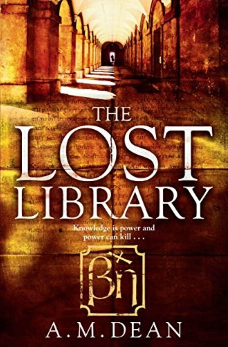 Book cover for 'The Lost Library'