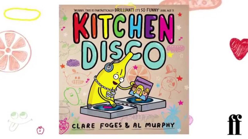 Book cover for 'Kitchen Disco'