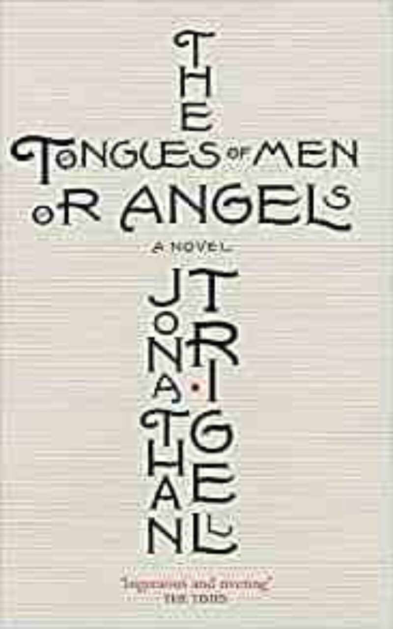 Book cover for 'The Tongues of Men or Angels'
