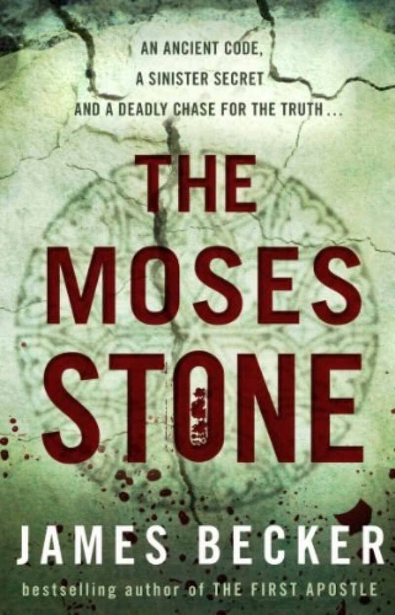 Book cover for 'The Moses Stone'