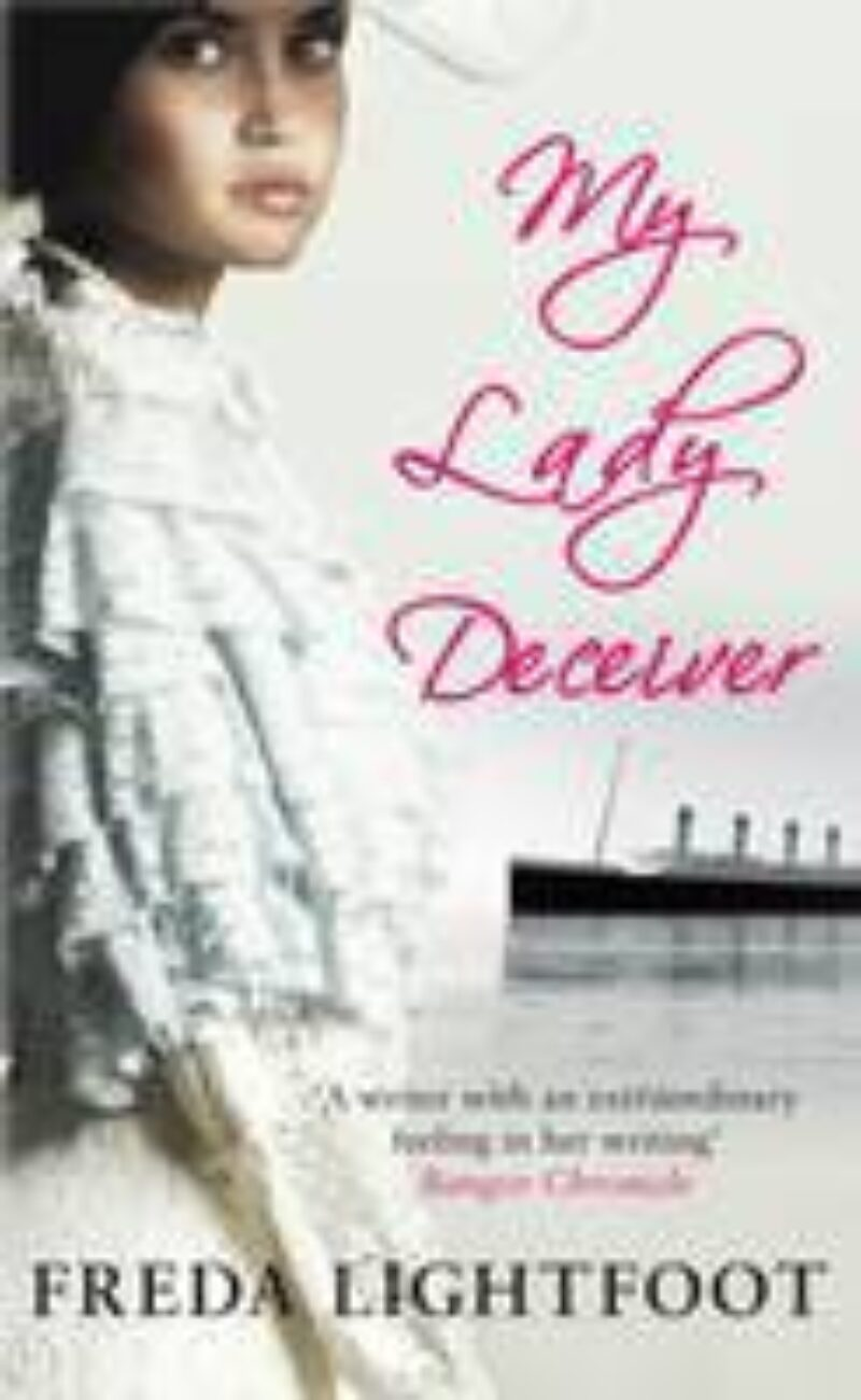Book cover for 'My Lady Deceiver'