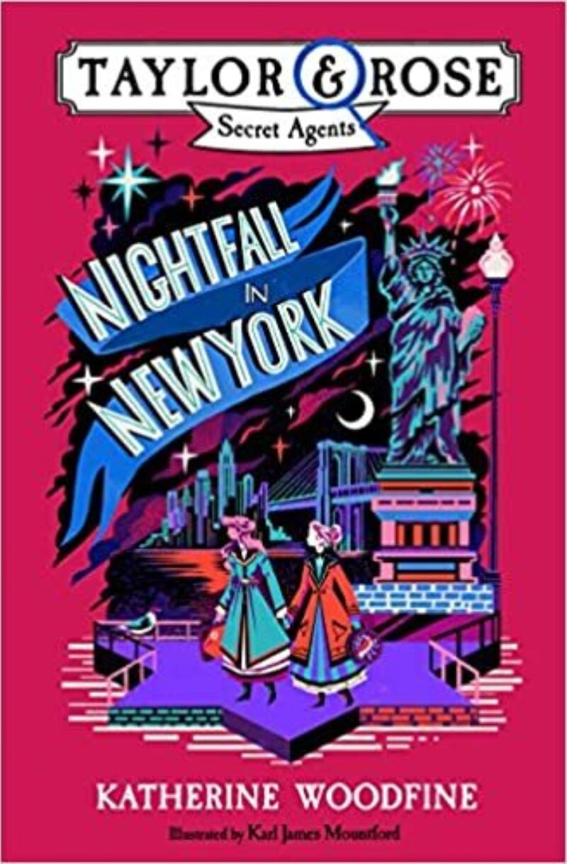 Book cover for 'Nightfall in New York'