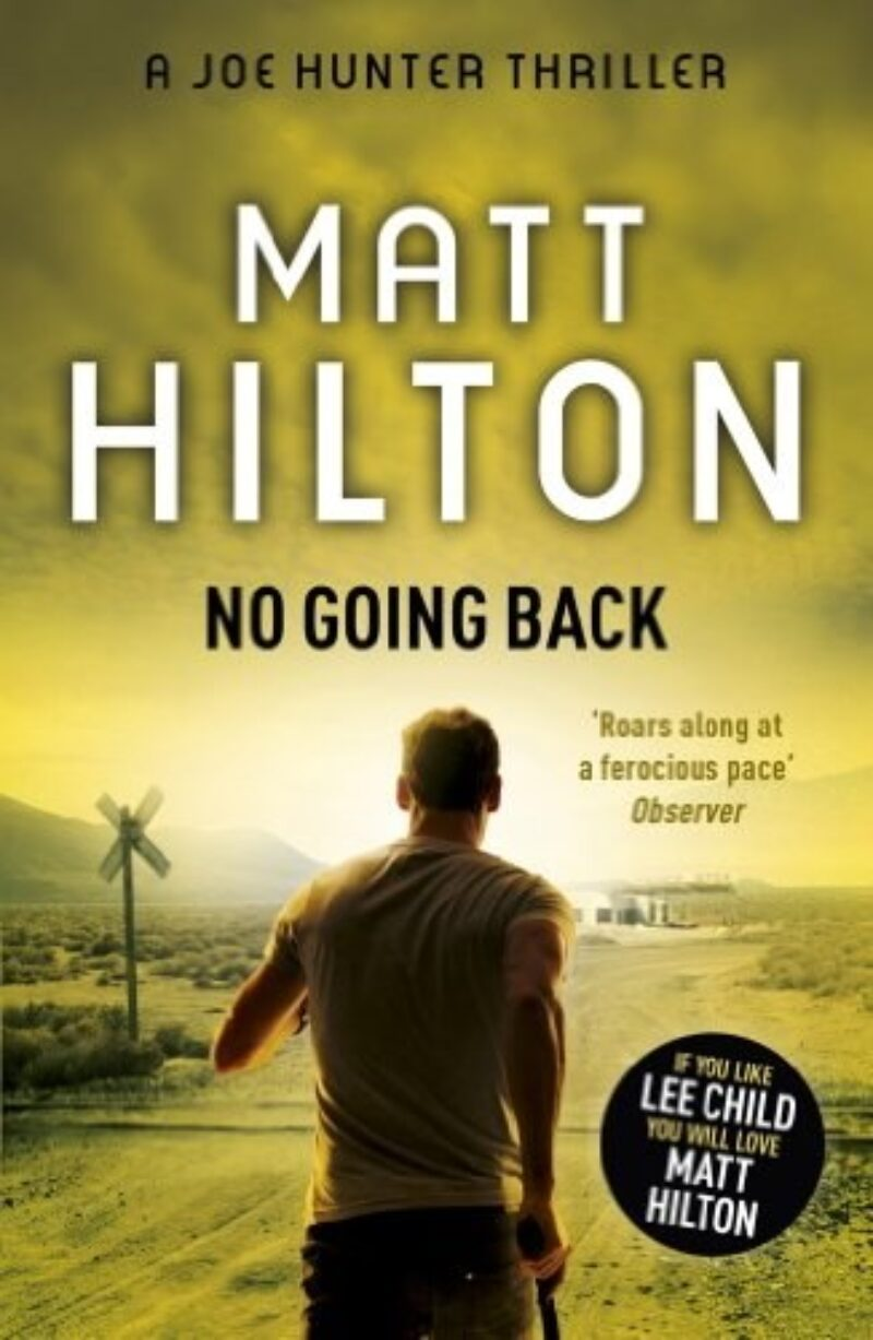 Book cover for 'No Going Back'