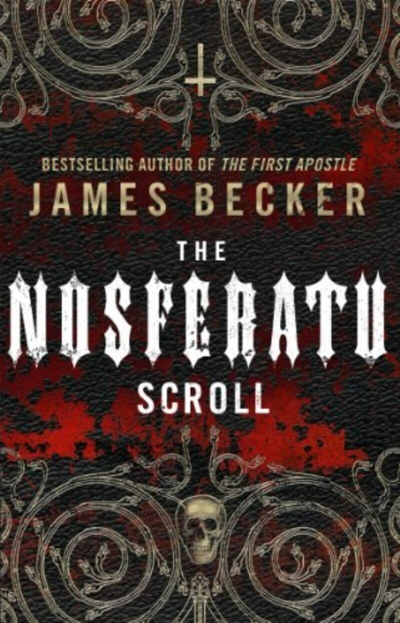 Book cover for 'The Nosferatu Scroll'