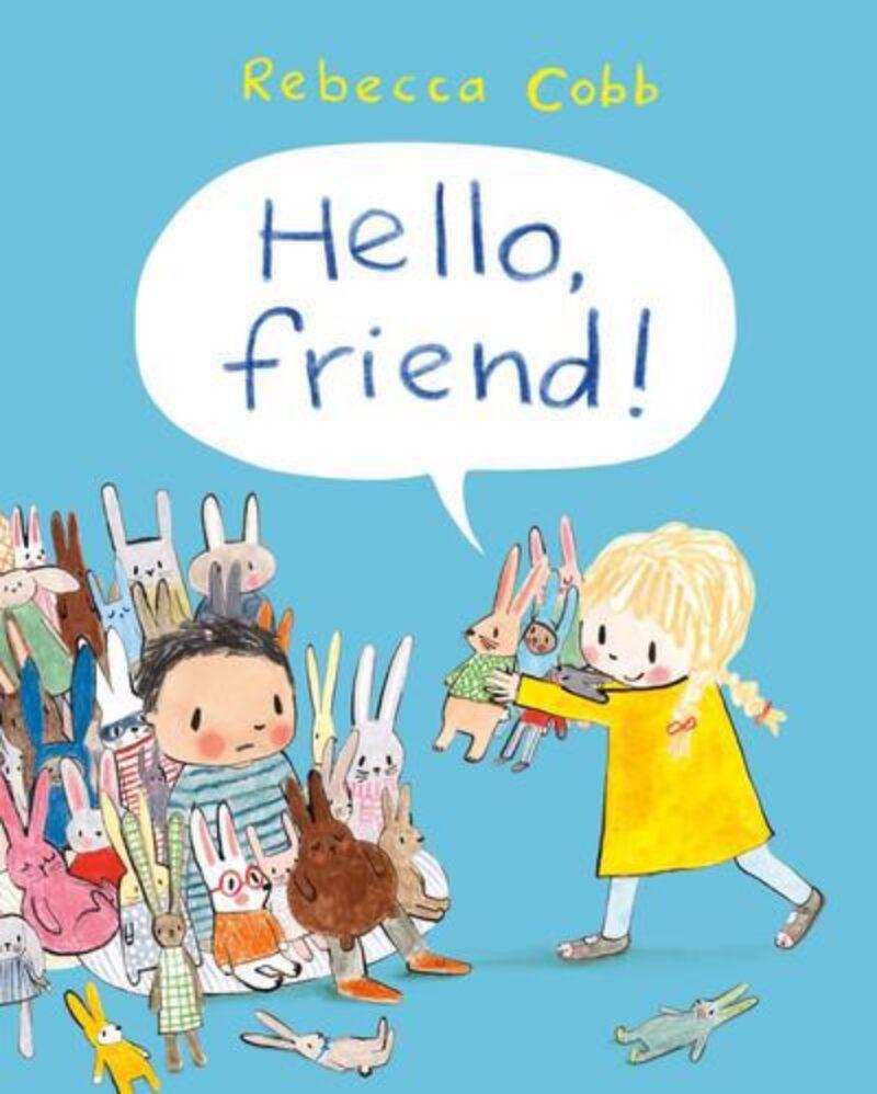 Book cover for 'Hello, Friend!'