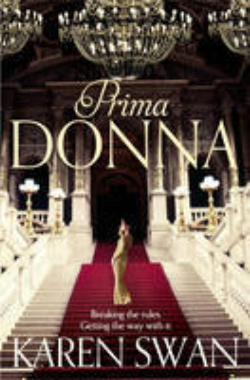 Book cover for 'Prima Donna'