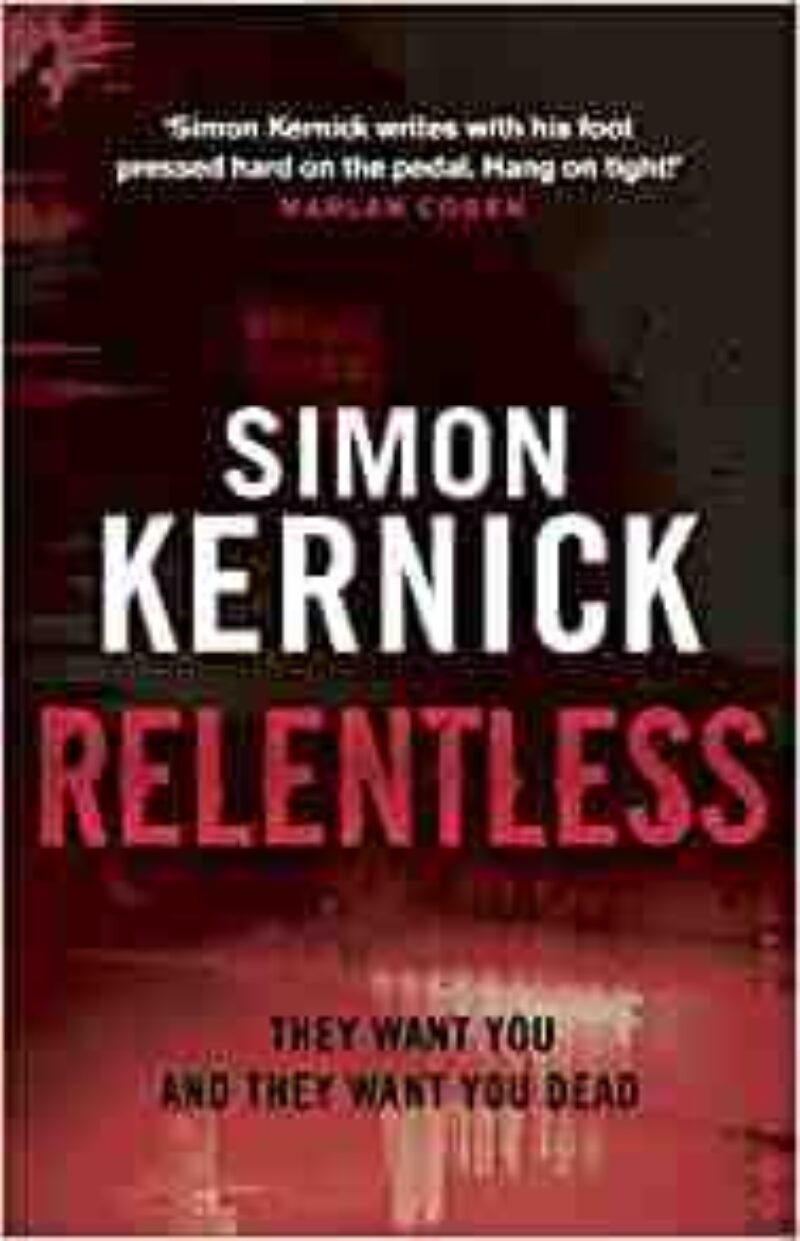Book cover for 'Relentless'