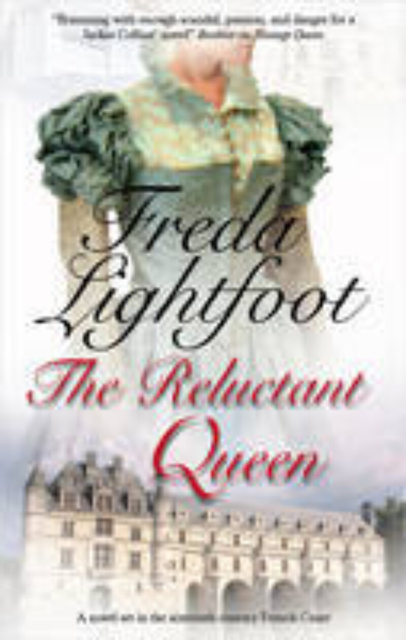 Book cover for 'The Reluctant Queen'