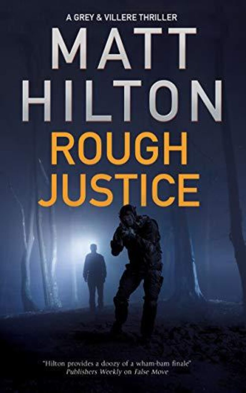 Book cover for 'Rough Justice'