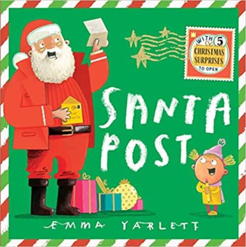 Book cover for 'Santa Post'