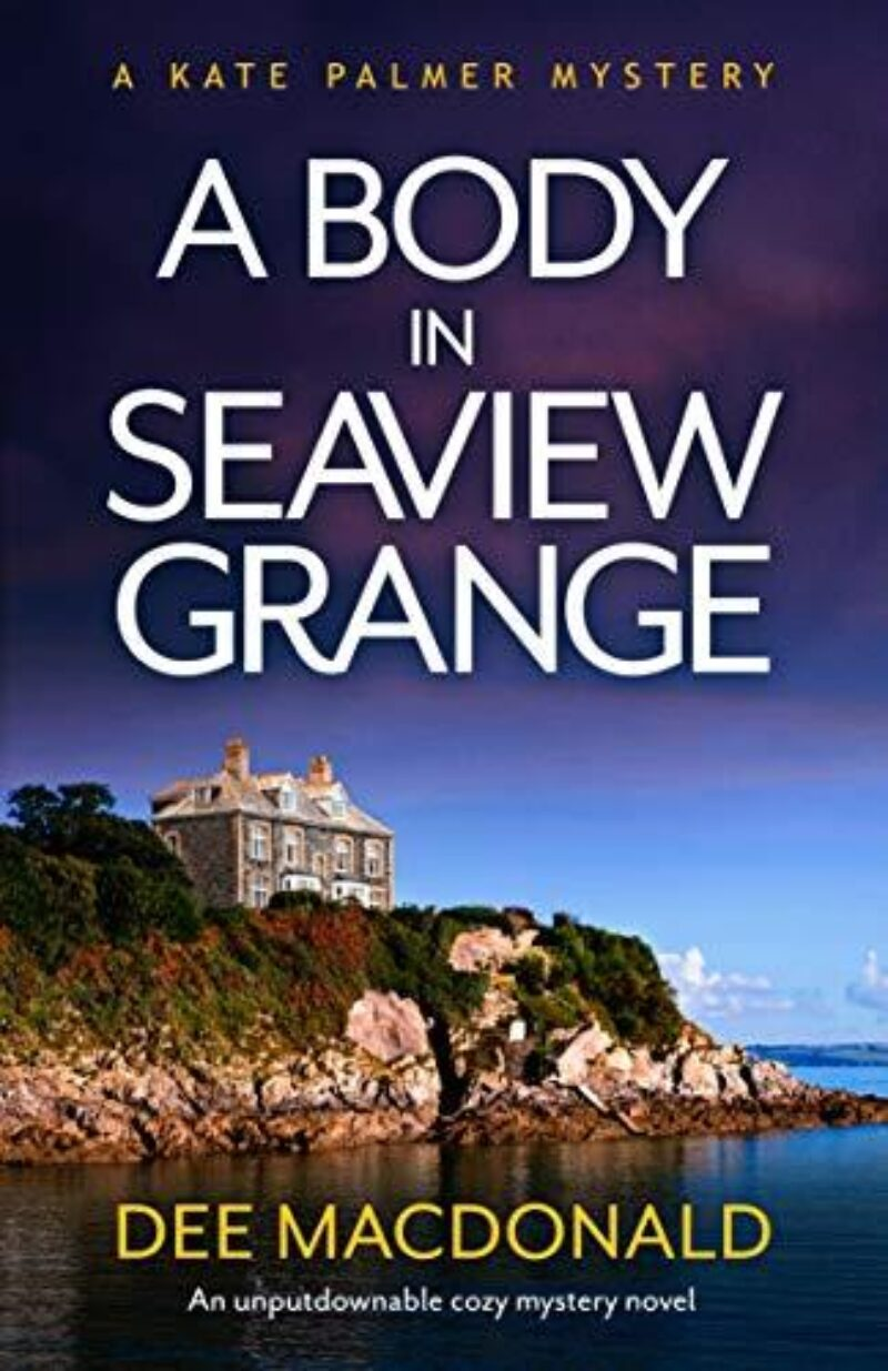 Book cover for 'A Body in Seaview Grange'