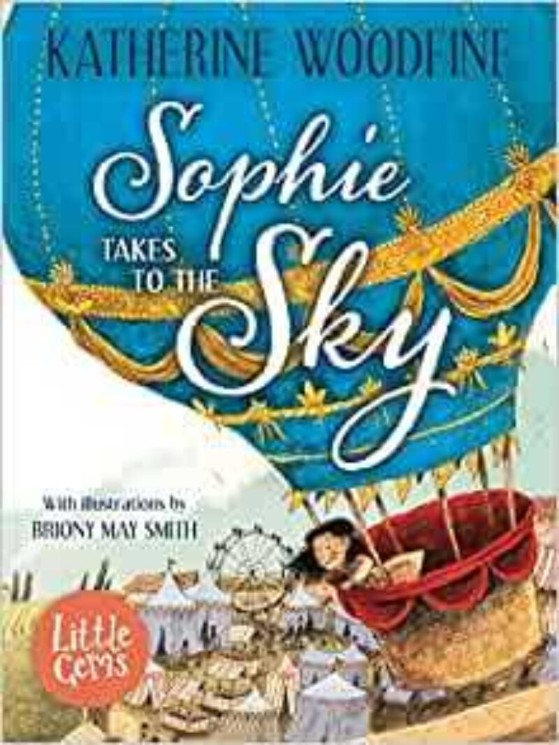 Book cover for 'Sophie Takes To The Sky'