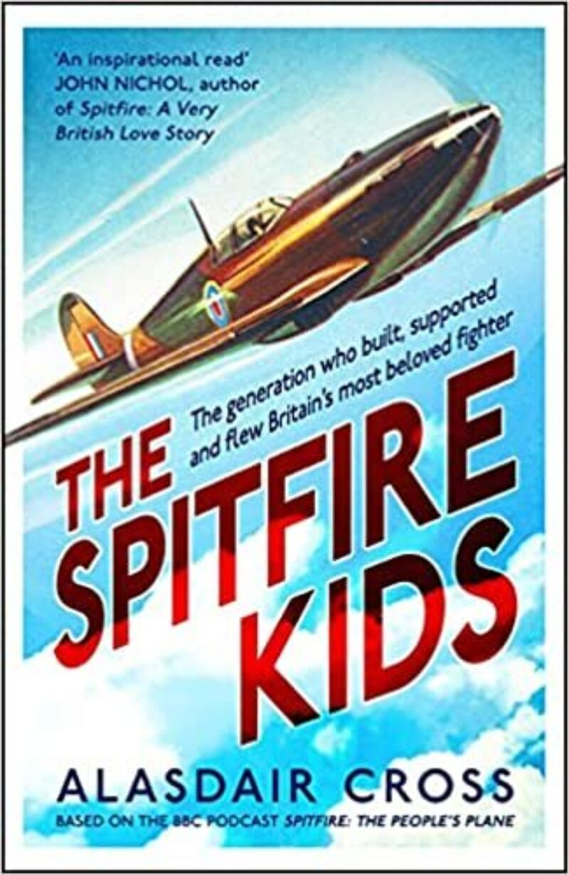 Book cover for 'Spitfire Kids'