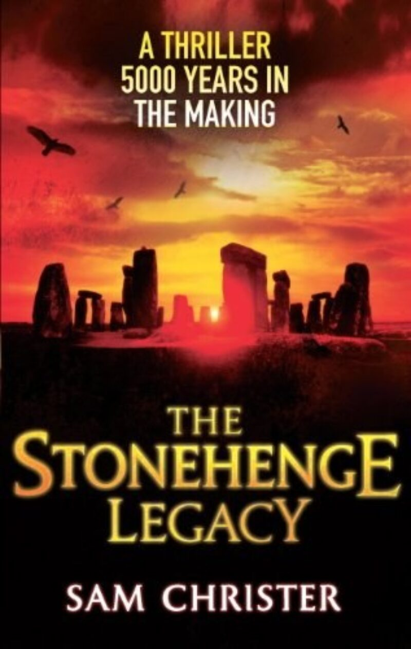 Book cover for 'The Stonehenge Legacy'