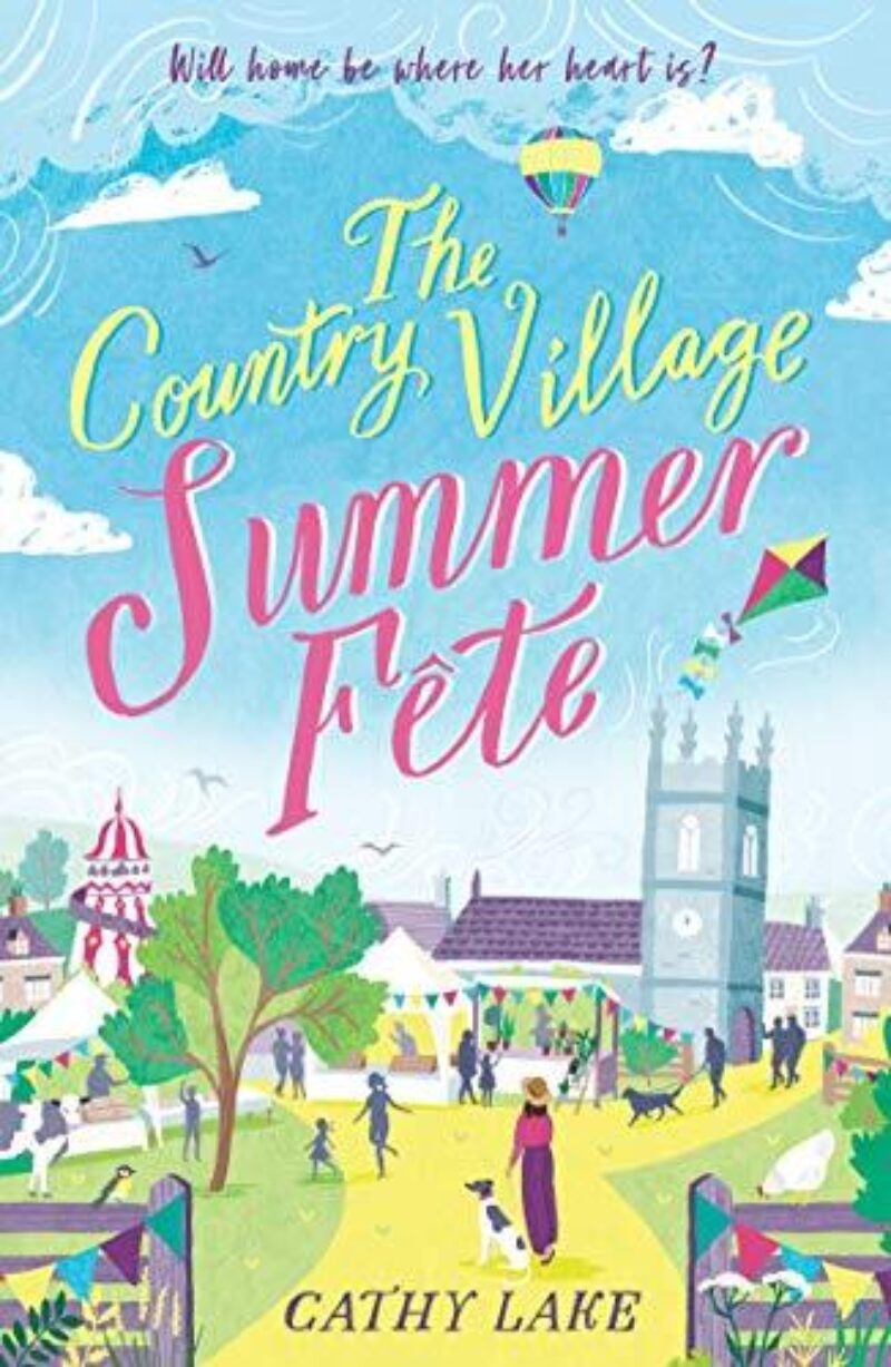 Book cover for 'The Country Village Summer Fête'
