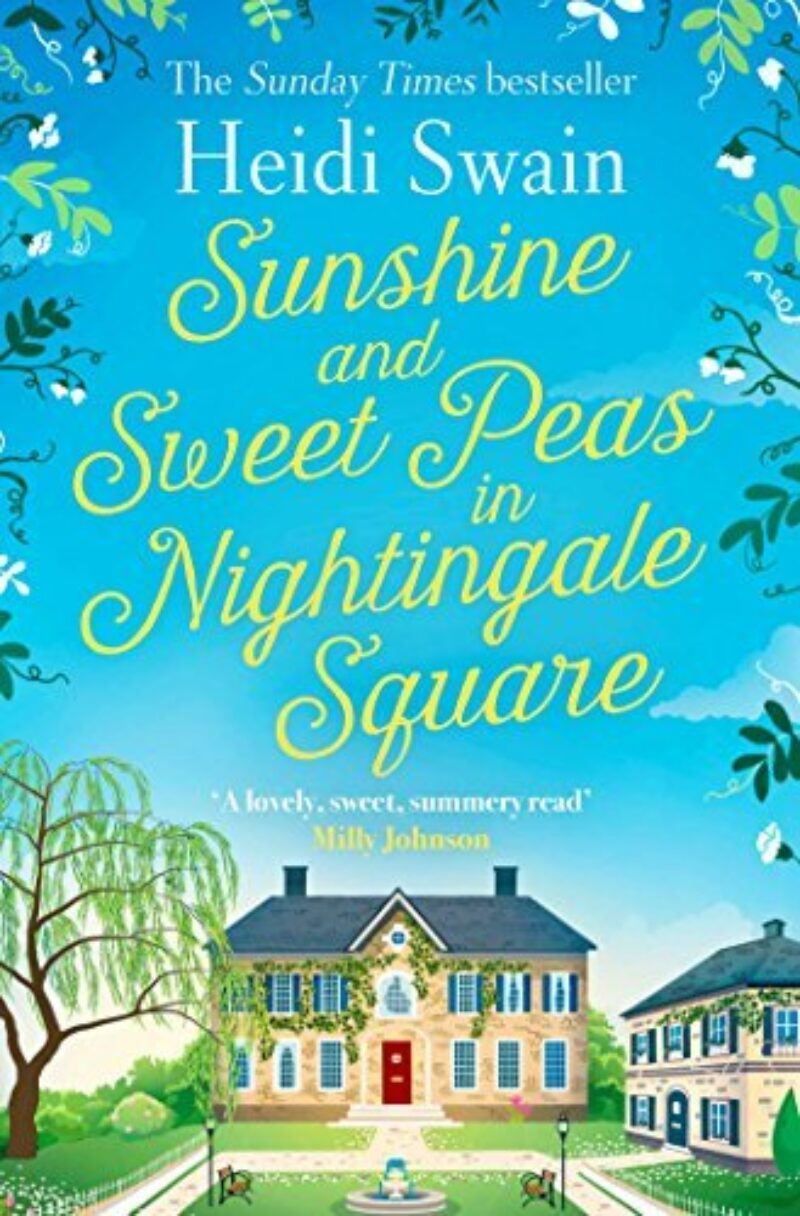 Book cover for 'Sunshine and Sweat Peas in Nightingale Square'