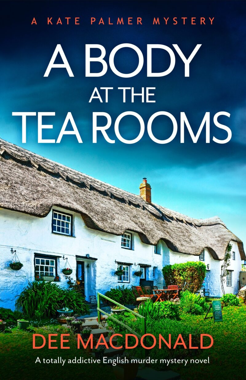 Book cover for 'A Body at the Tea Rooms'