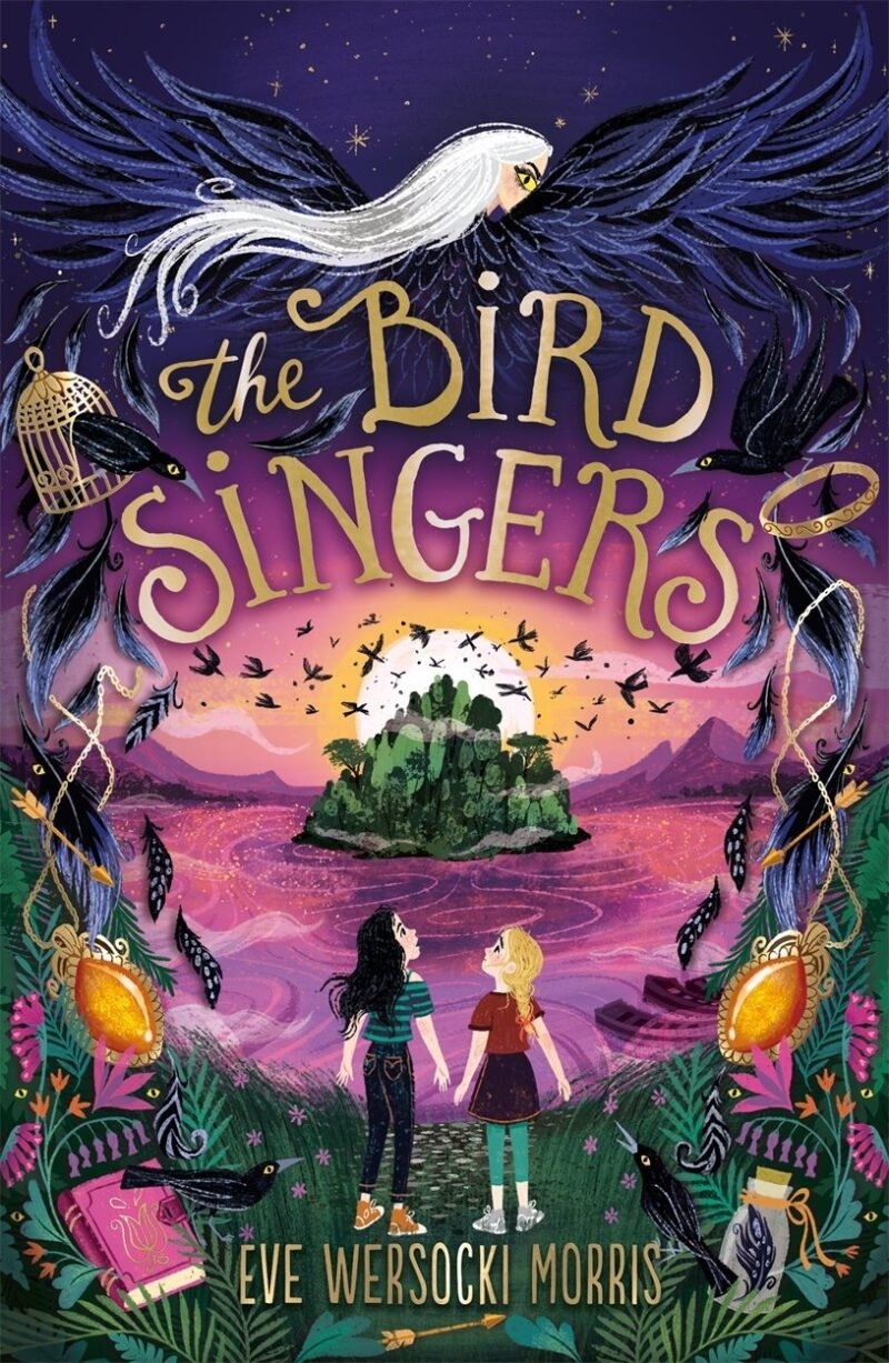Book cover for 'The Bird Singers'
