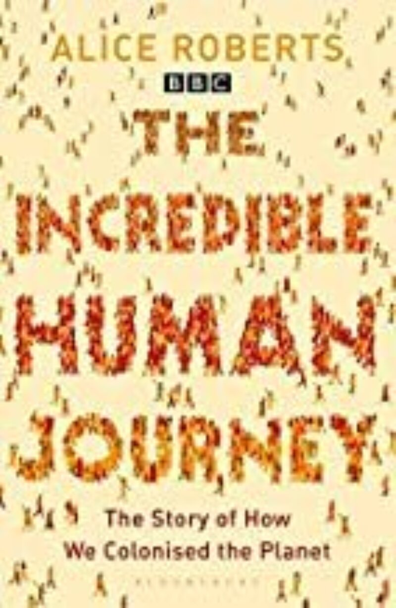 Book cover for 'The Incredible Human Journey'
